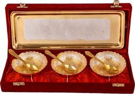 Jaipurikala Silver Plated Decorative Platter