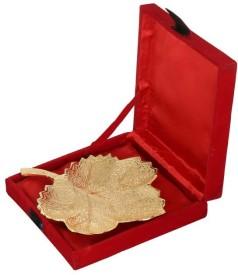 TI Giftware Brass Decorative Platter