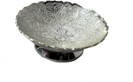 Sheela's Arts & Crafts Brass Decorative Platter