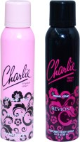 CHARLIE CRYSTAL CHIC::NEON CHIC Deodorant Spray  -  For Women (300 Ml)