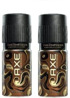 Axe Chocolate Deodorant Combo (Pack Of 2) Body Spray  -  For Boys, Men (150 Ml)