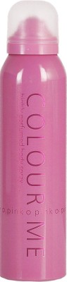 Colour Me Sprays Colour Me Highly Perfumed Pink Deodorant Spray For Women