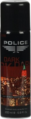 Buy Police Dark Deodorant Spray  -  200 ml: Deodorant
