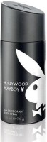 Playboy Hollywood Deodorant Body Spray  -  For Men, Boys (150 Ml)