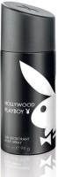 Playboy Hollywood Deodorant Body Spray  -  For Men, Boys (150 Ml)