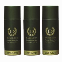 Denver Hamilton Green Deodorant Spray - For Men (115 G)