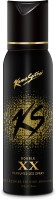 Kamasutra Black XX Double Perfumed Body Deodorant Spray  -  For Men (120 Ml)