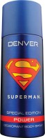 DENVER Superman Power Deo 150 Ml Deodorant Spray  -  For Men (150 Ml)