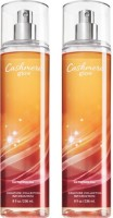 Bath & Body Works Cashmere Glow Combo Set Body Mist  -  For Boys, Men, Girls, Women (472 Ml)