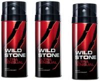 Wild Stone Ultra Sensual Body Spray  -  For Men (150 Ml)