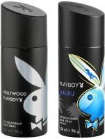 Playboy Malibu Hollywood Body Spray  -  For Men (300 Ml)