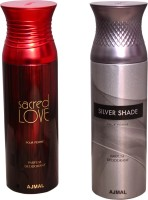 AJMAL 1 SACRED LOVE::1 SILVER SHADE Deodorant Spray  -  For Women (400 Ml)
