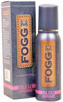 Fogg Bleu Spring Long Lasting Deodorant Body Spray  -  For Men (120 Ml)