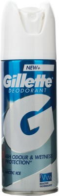 Buy Gillette Arctic Ice Deodorant Spray  -  150 ml: Deodorant