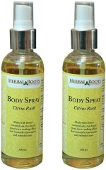 Herbal Roots Sprays Herbal Roots Citrus Rush Body Spray For Men, Women