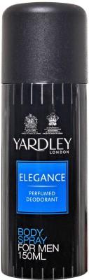 Yardley Sprays Yardley Elegance Deodorant Spray For Men