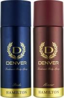 DENVER Denver Pride And Honour Deo Combo (Pack Of 2) Deodorant Spray  -  For Men (150 Ml)