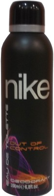 Nike N150 Out Of Control Deodorant Spray  -  200 Ml - For Men