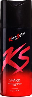 Buy KamaSutra Spark Deodorant Spray  -  150 ml: Deodorant