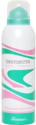 Rasasi Sprays Rasasi Instincts Deodorant Spray For Women