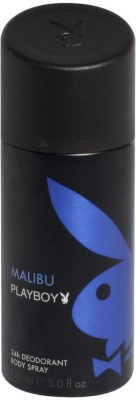 Buy Playboy Malibu Deodorant Spray  -  150 ml: Deodorant