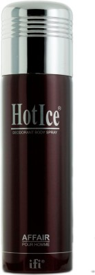 Hot Ice Deos Affair Deodorant Spray  -  200 Ml - For Women