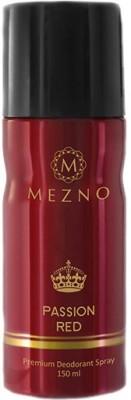 Mezno Passion Red Deodorant Spray  -  For Men