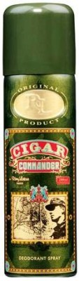 Buy Combo of 2 Lomani Cigar Commander Deodorant Spray - 200 ml: Bundle