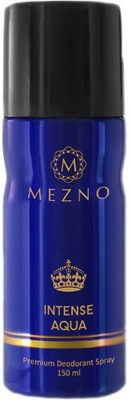 Mezno Sprays Mezno Intense Aqua Deodorant Spray For Men