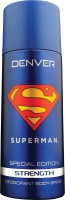 DENVER Superman Strength Deo 150 Ml Deodorant Spray  -  For Men (150 Ml)