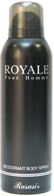 Rasasi Sprays Rasasi Royal Pour Homme Deodorant Spray For Men