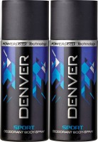 Denver Blue Sport Deo Combo (Pack Of 2) Body Spray  -  For Men (150 Ml)