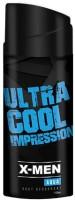 X-MEN Aqua Body Deodorant Spray  -  For Men (150 Ml)