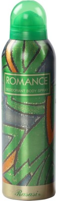 Rasasi Sprays Rasasi Romance Deodorant Spray For Men, Women