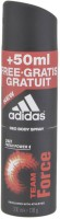 Adidas Team Force - 24h Fresh Power + 50 Ml Free.Gratis Gratuit Deodorant Spray  - (200 Ml)