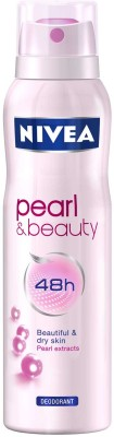 Buy Nivea Pearl and Beauty Deodorant Spray  -  150 ml: Deodorant