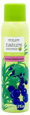 Oriflame Sprays Oriflame Nature Secrets Body Spray Rosemary & Blackcurrant Body Spray For Girls
