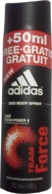 Buy Adidas Team Force Deodorant Spray  -  200 ml: Deodorant