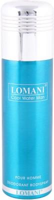 Lomani Cool Water Man Deodorant Spray - 200 ml For Men