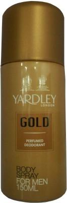 Yardley Sprays Yardley Gold Deodorant Spray For Men