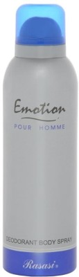 Rasasi Sprays Rasasi Emotion Deodorant Spray For Men