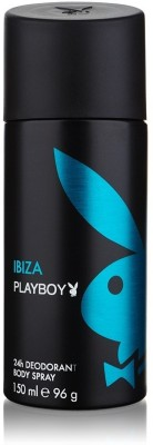 Buy Playboy Ibiza Deodorant Spray  -  150 ml: Deodorant