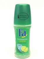 Fa Caribbean Lemon Exotic Fresh 48hrs On Skin Friendly Deodorant Roll-on - 50 Ml (For Men)