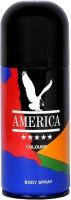 America Colours Body Spray  -  For Men, Boys (150 Ml)