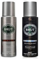 Brut Combo Set Identity Musk Body Spray  -  For Men (200 Ml)