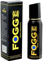 Fogg Black Collection Fresh Aromatic Deodorant Long Lasting Body Spray  -  For Men (120 Ml)
