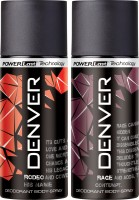 DENVER Denver Rage And Ro Deo Combo (Pack Of 2) Deodorant Spray  -  For Men (150 Ml)
