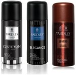 Yardley London Sprays Yardley London Gentleman & Elegance & Legend Body Spray For Boys, Men