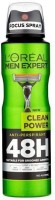 L'Oreal Paris Men Expert Clean Power Deodorant Spray  -  For Men, Boys (150 Ml)