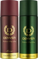 DENVER Denver Hamilton And Honour Deo Combo (Pack Of 2) Deodorant Spray  -  For Men (150 Ml)